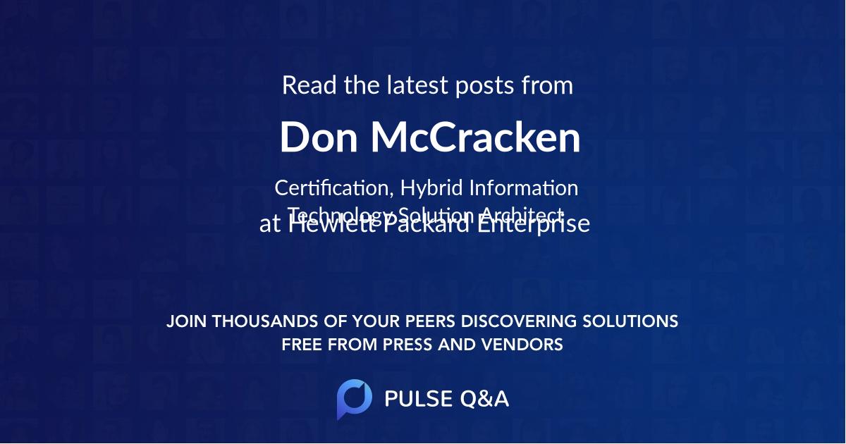 Don McCracken