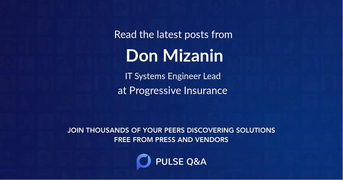Don Mizanin