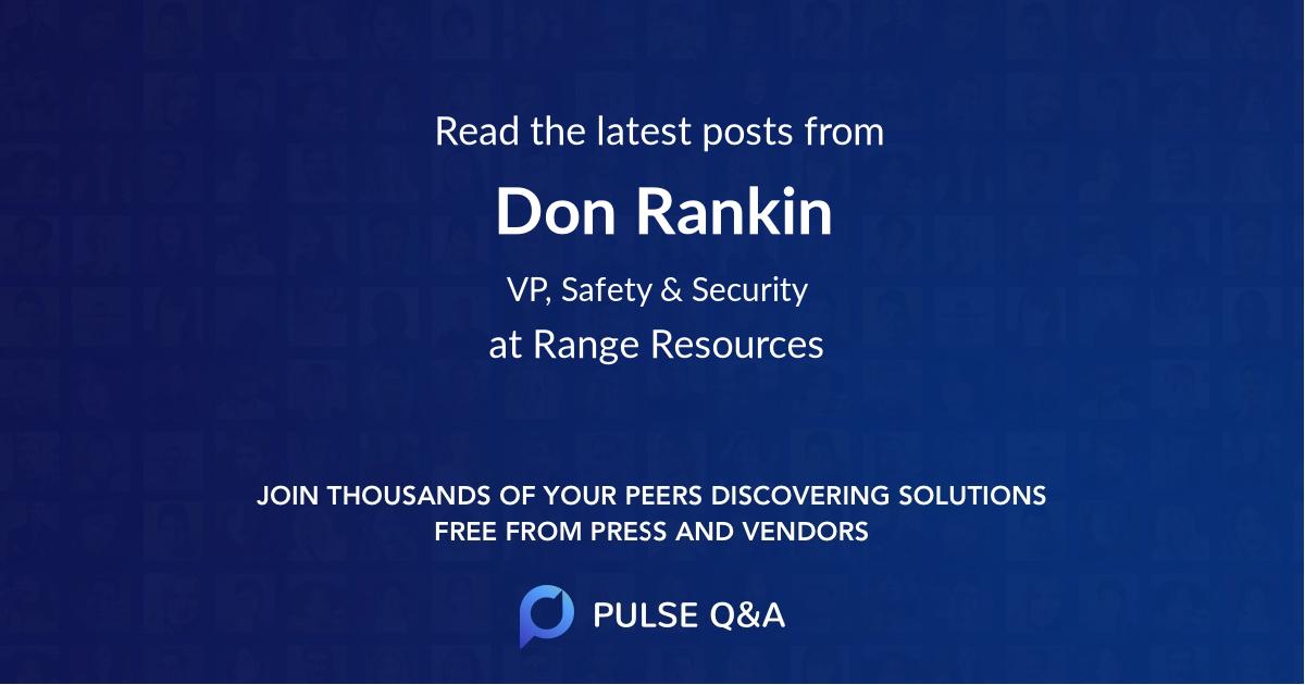 Don Rankin