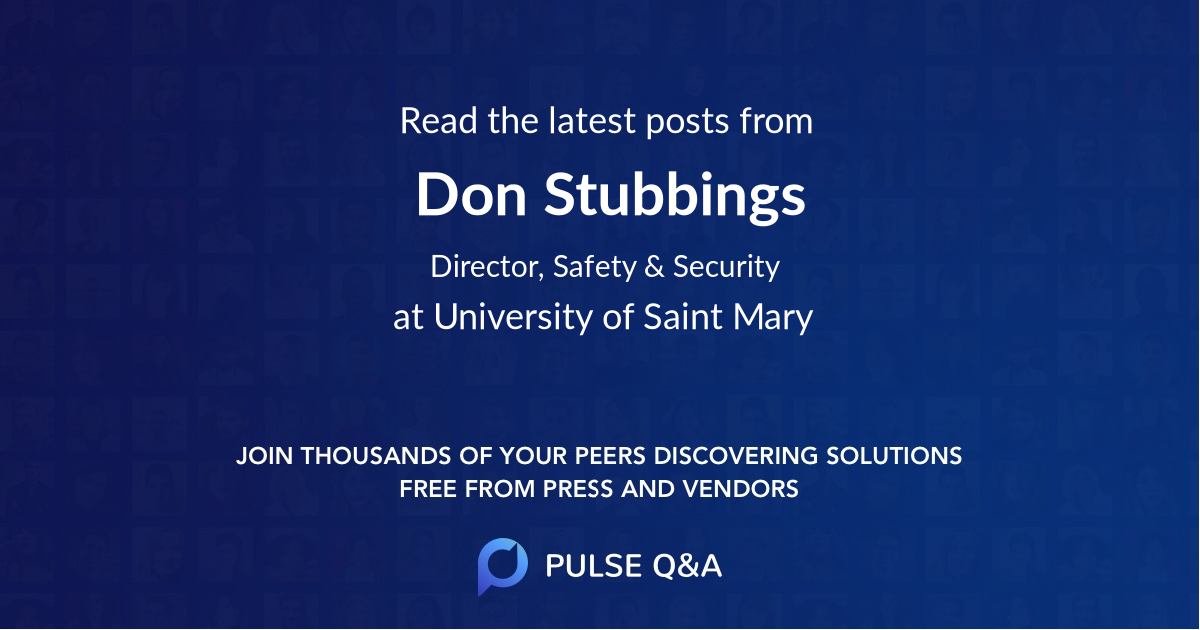 Don Stubbings