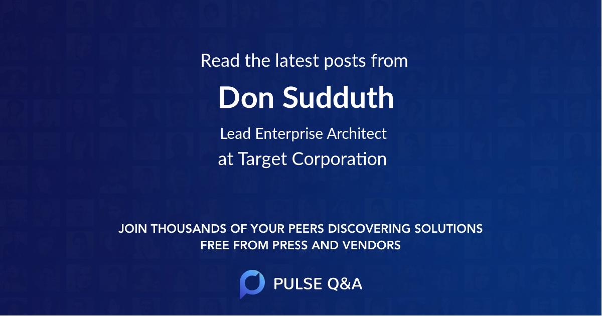 Don Sudduth