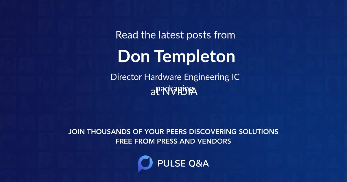 Don Templeton