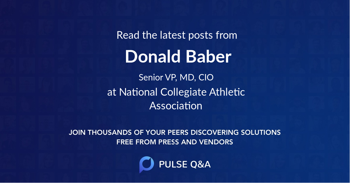 Donald Baber