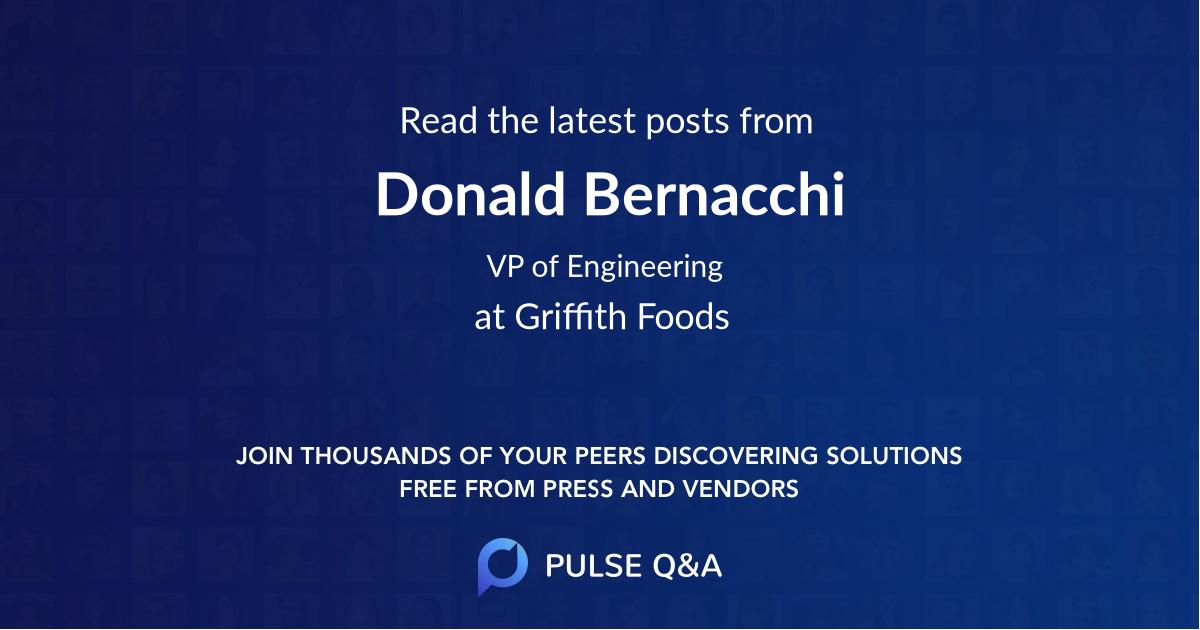 Donald Bernacchi
