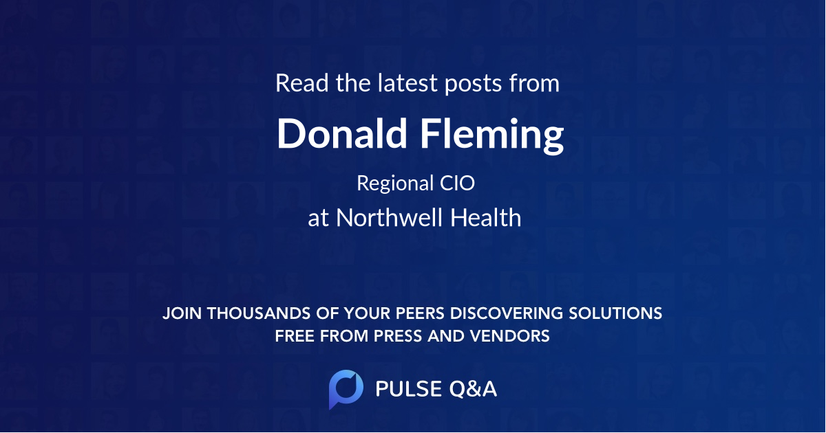 Donald Fleming