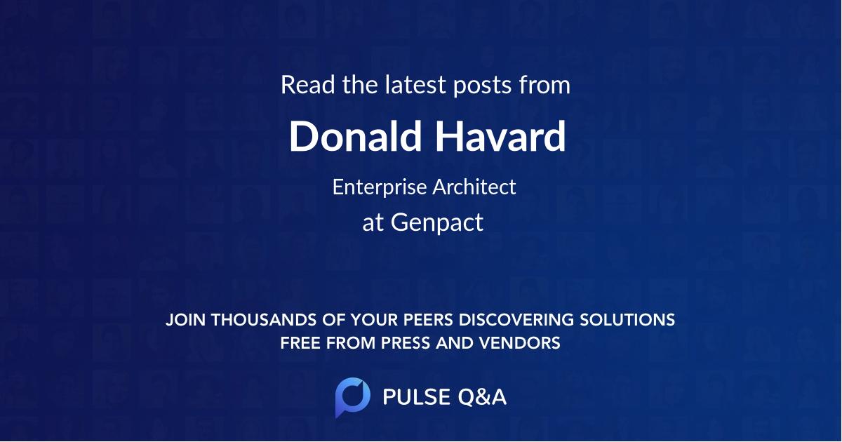 Donald Havard