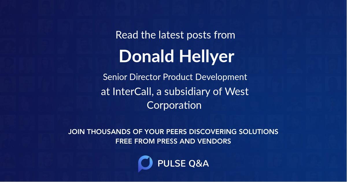 Donald Hellyer