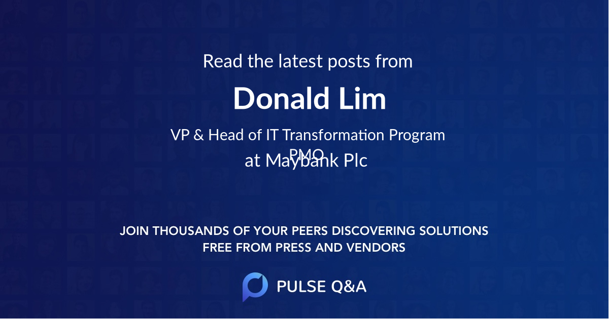 Donald Lim