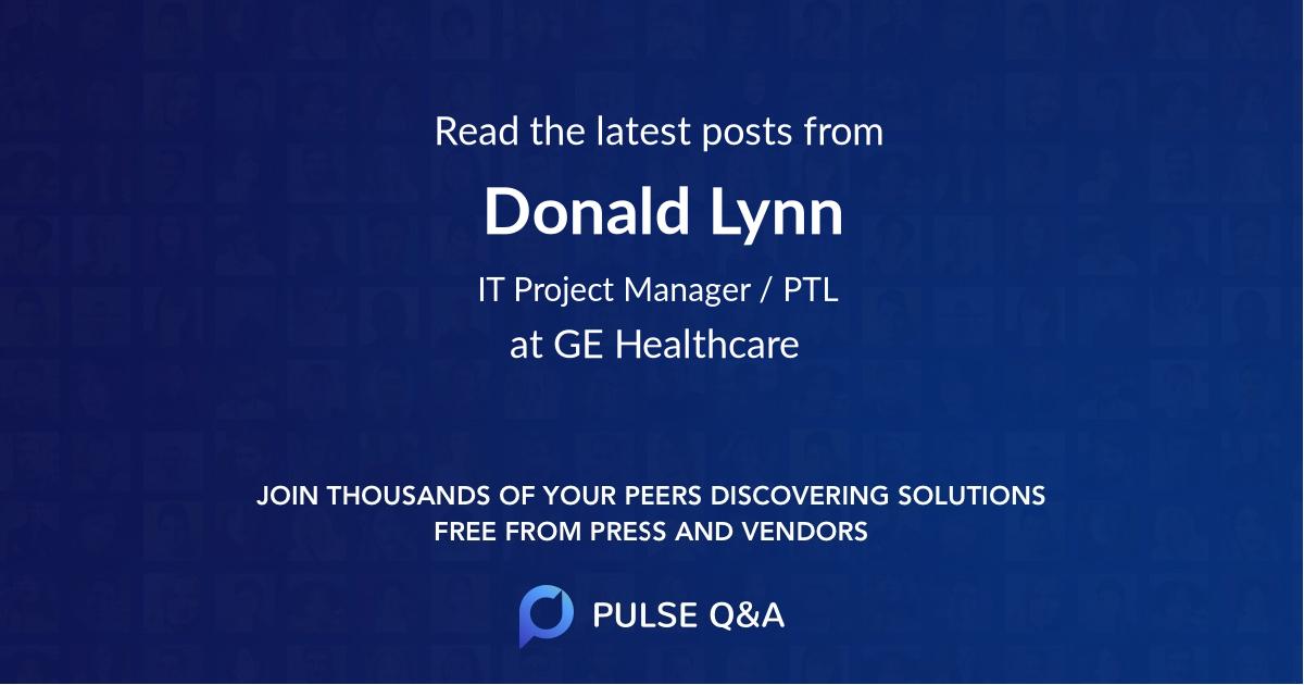 Donald Lynn