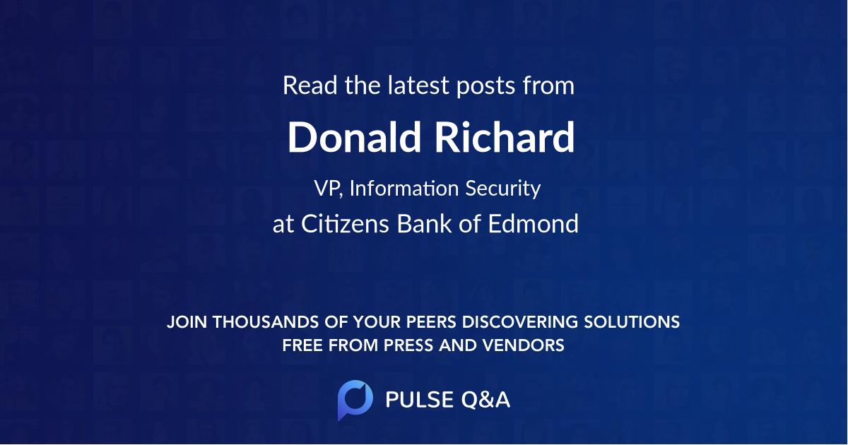Donald Richard
