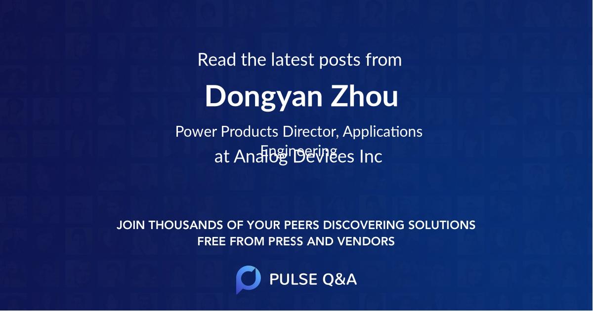 Dongyan Zhou