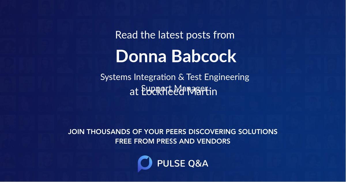 Donna Babcock