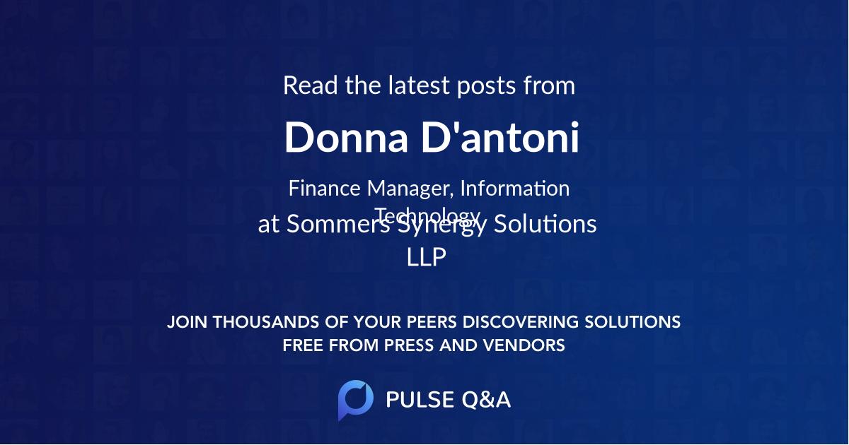 Donna D'antoni