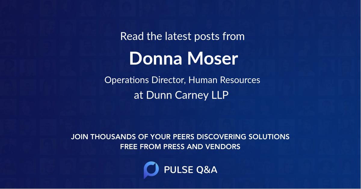 Donna Moser