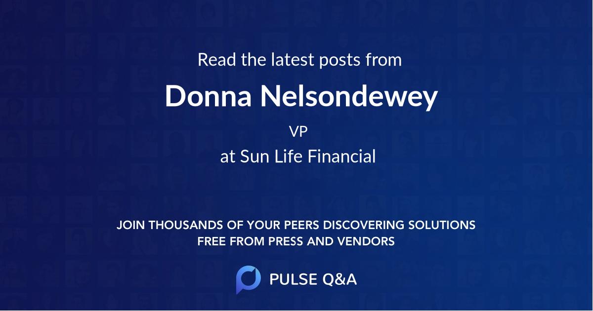 Donna Nelsondewey