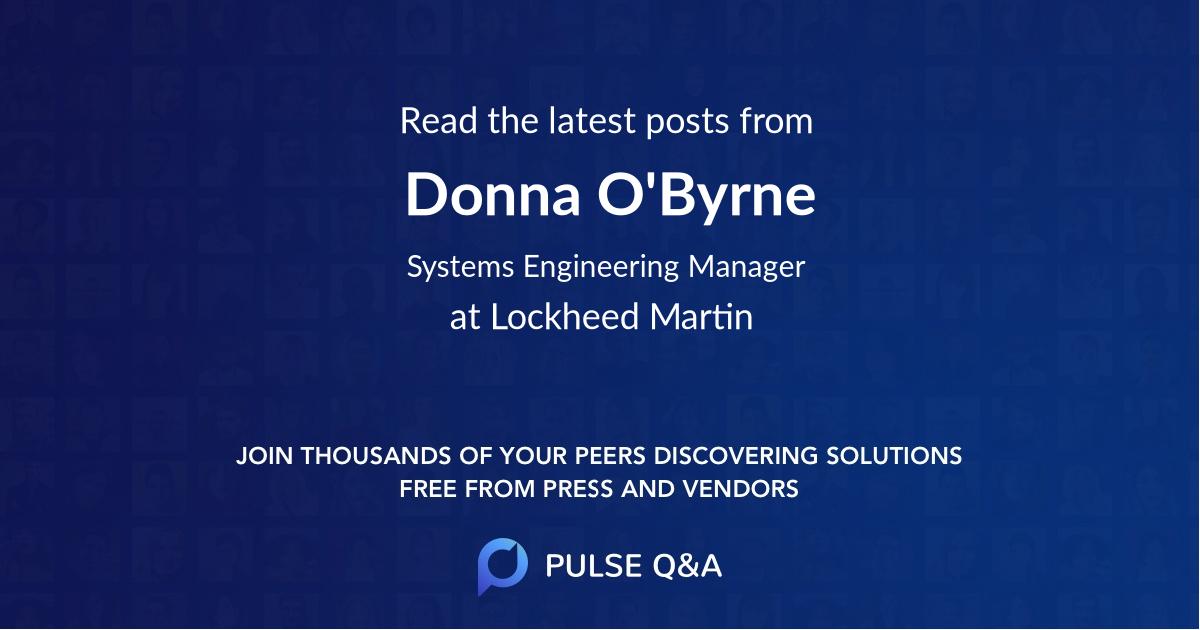 Donna O'Byrne