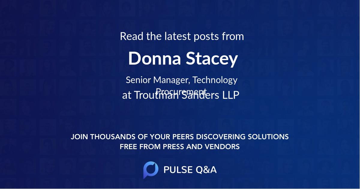 Donna Stacey