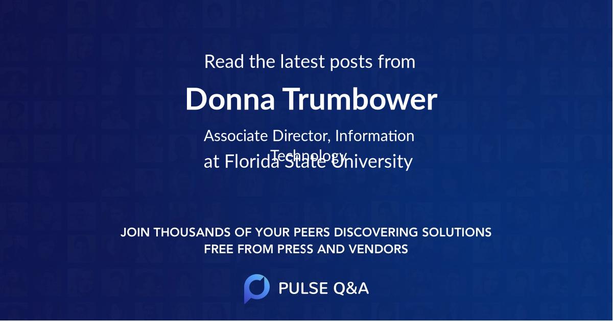 Donna Trumbower