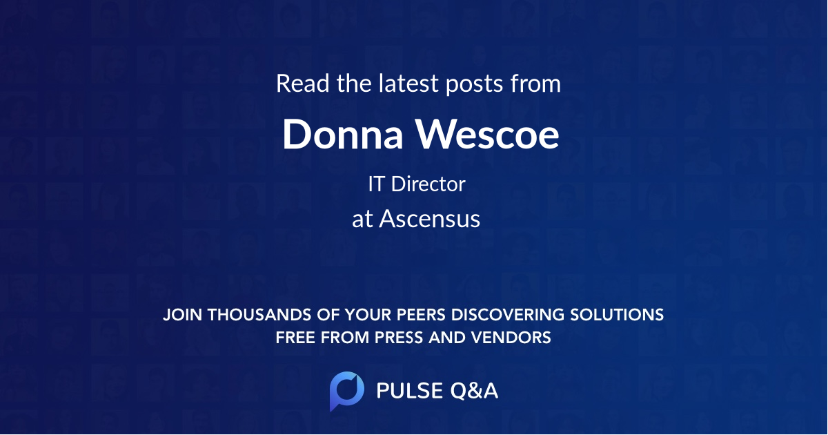 Donna Wescoe