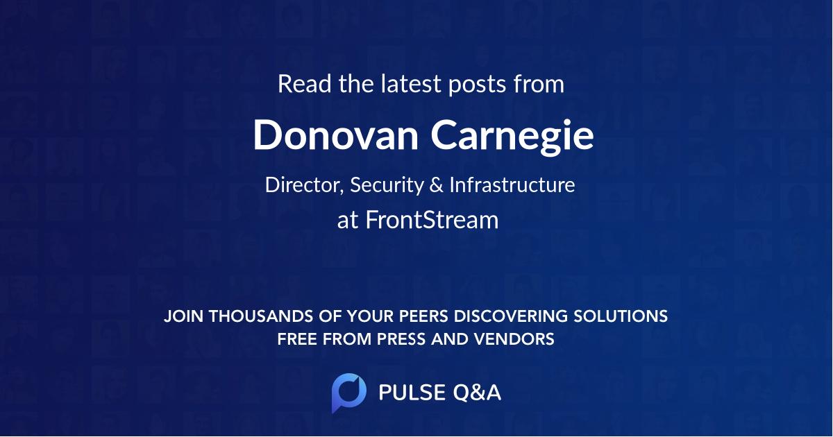 Donovan Carnegie
