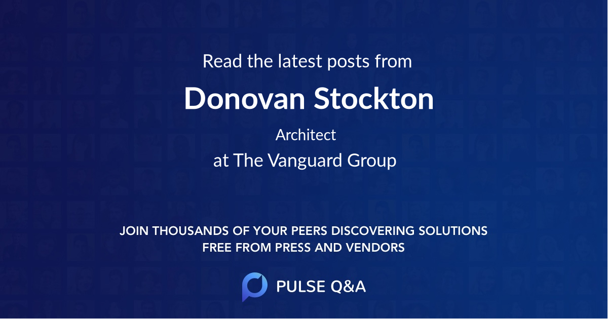 Donovan Stockton