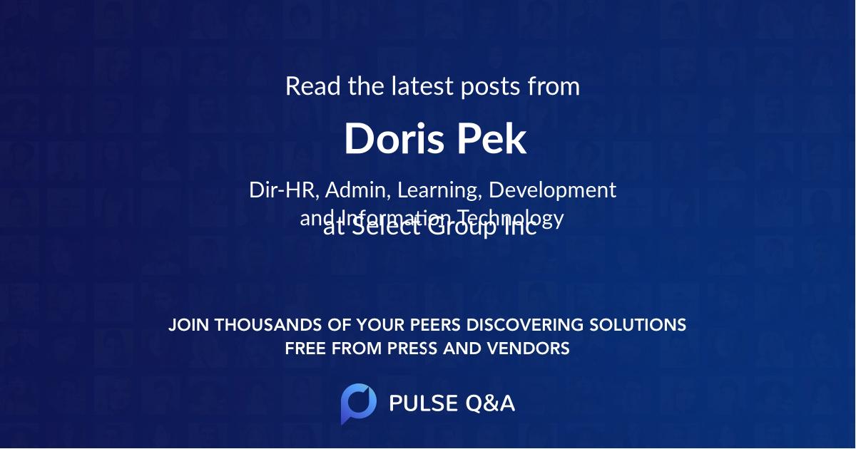 Doris Pek