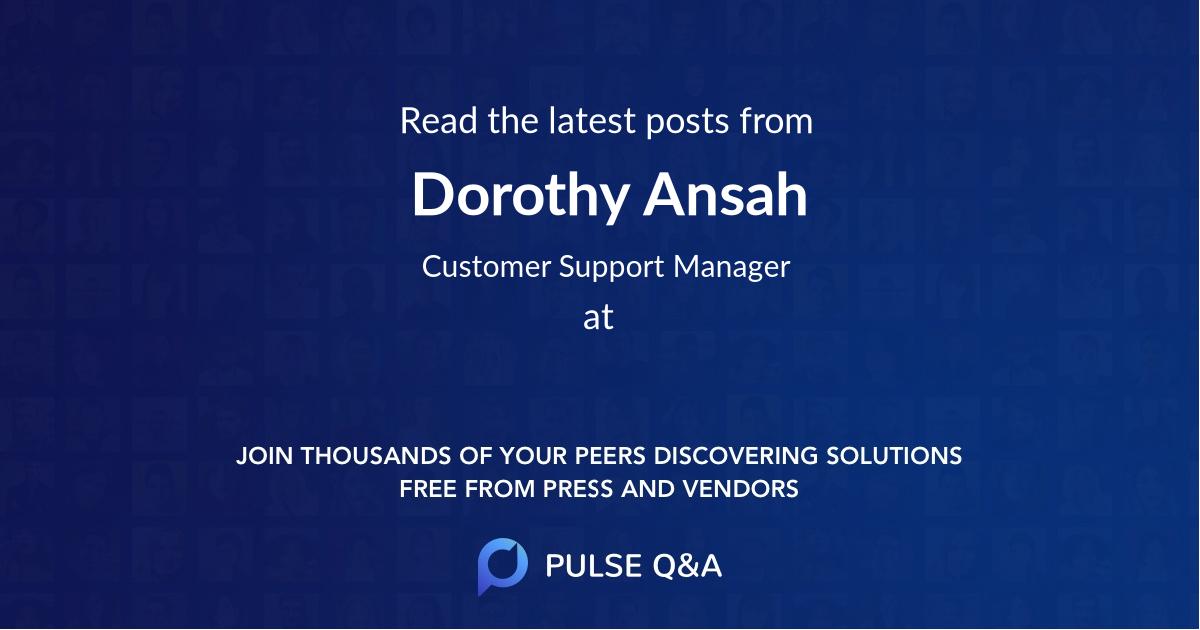 Dorothy Ansah