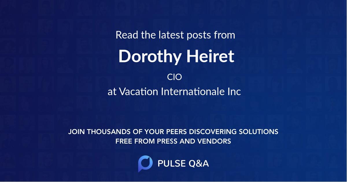 Dorothy Heiret