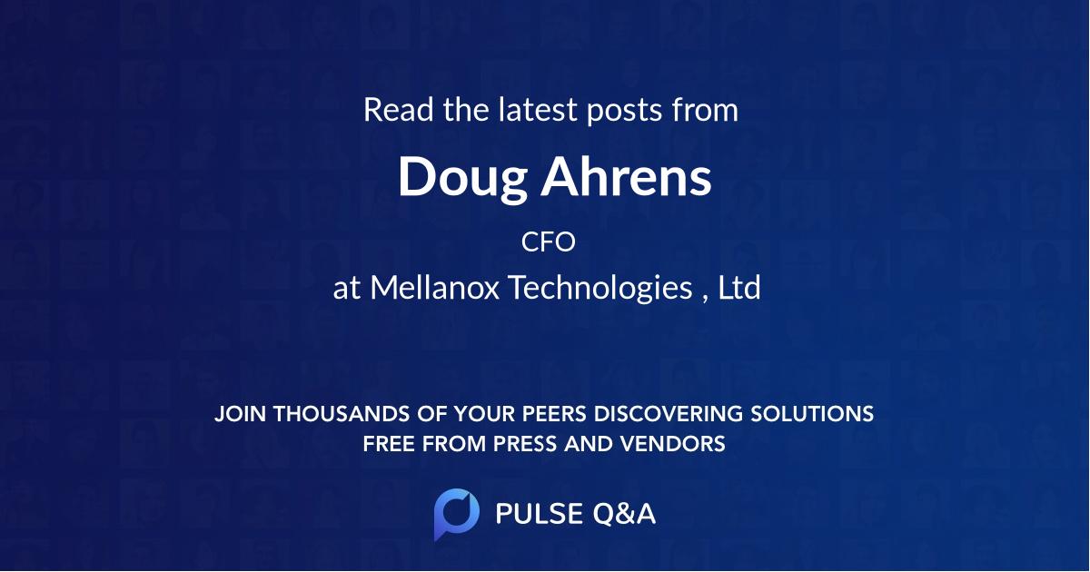 Doug Ahrens