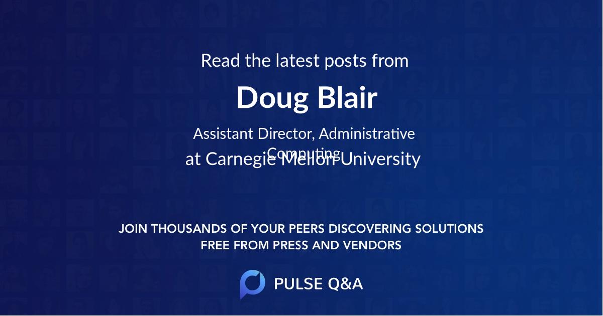 Doug Blair