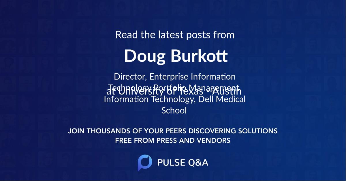 Doug Burkott