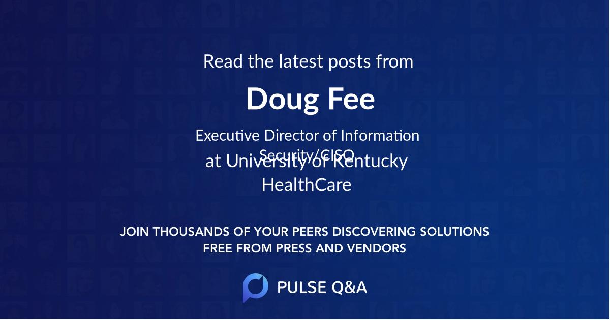 Doug Fee