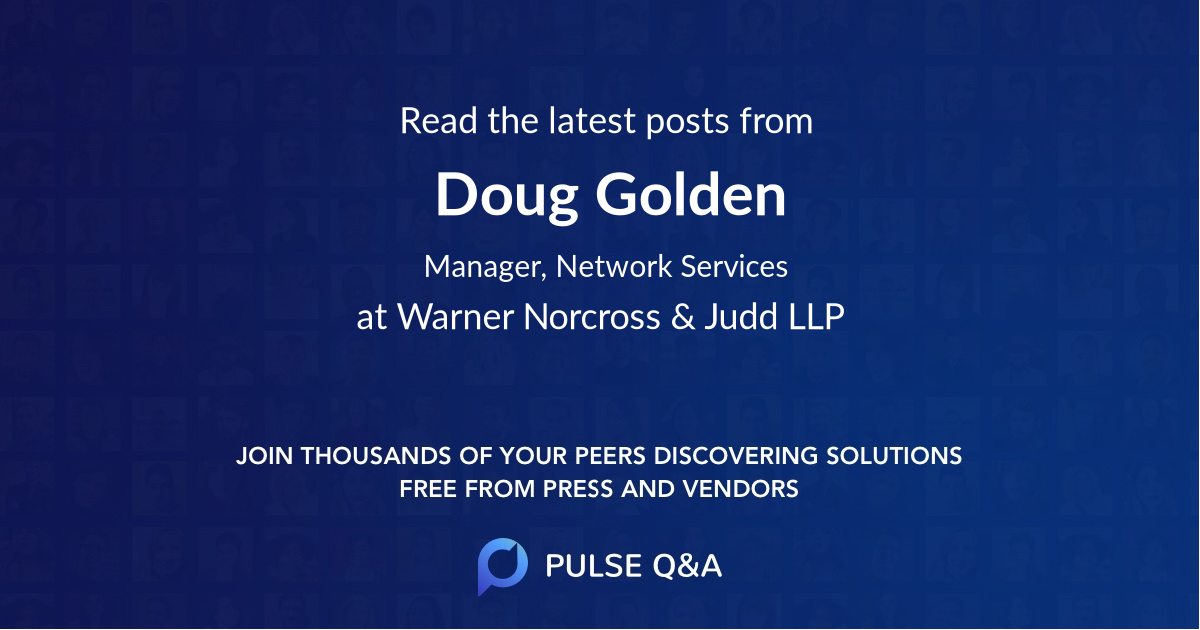 Doug Golden
