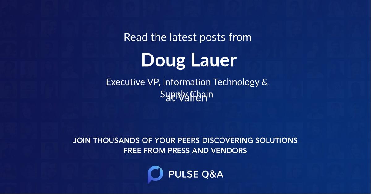 Doug Lauer