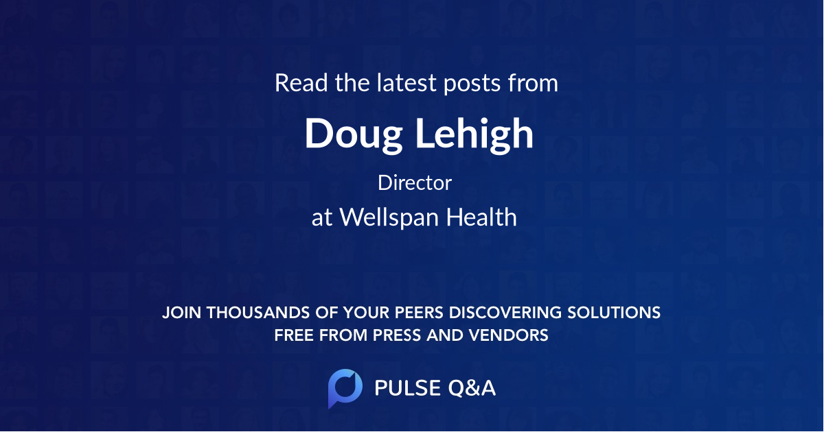 Doug Lehigh
