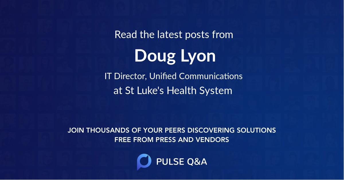 Doug Lyon