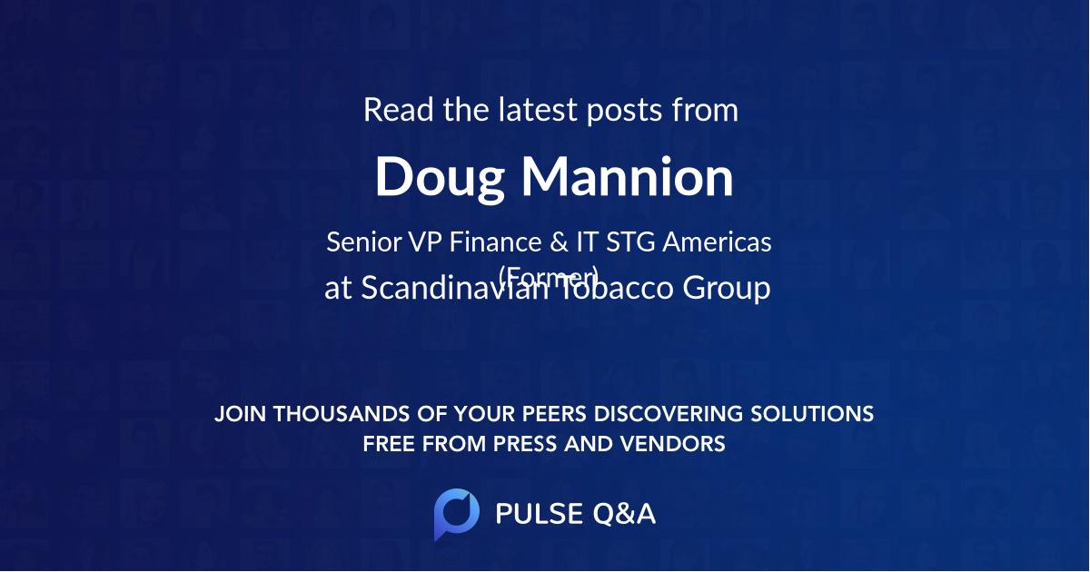 Doug Mannion