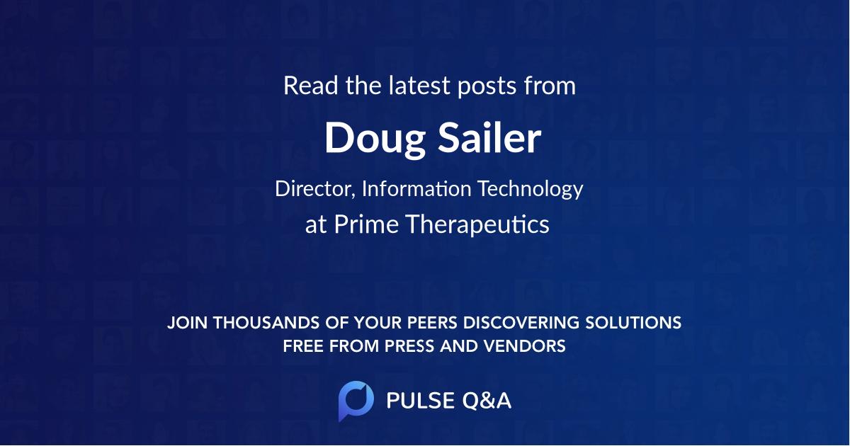 Doug Sailer