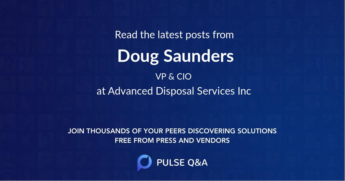 Doug Saunders