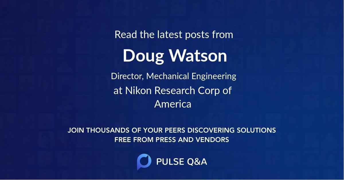 Doug Watson
