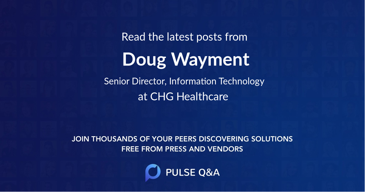 Doug Wayment