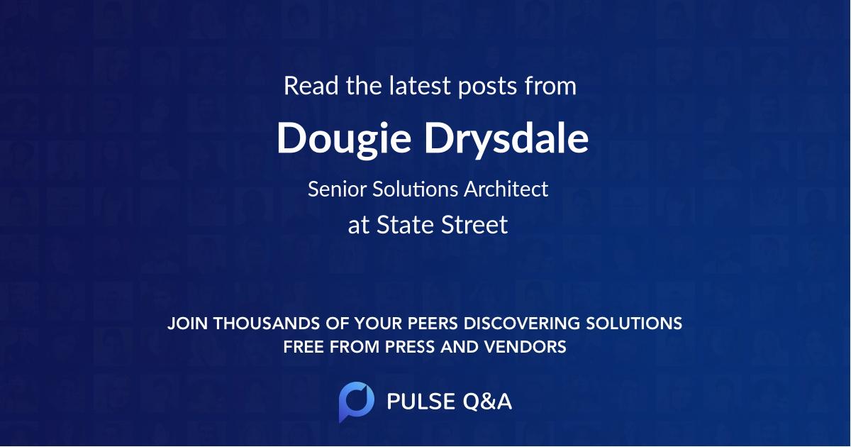 Dougie Drysdale