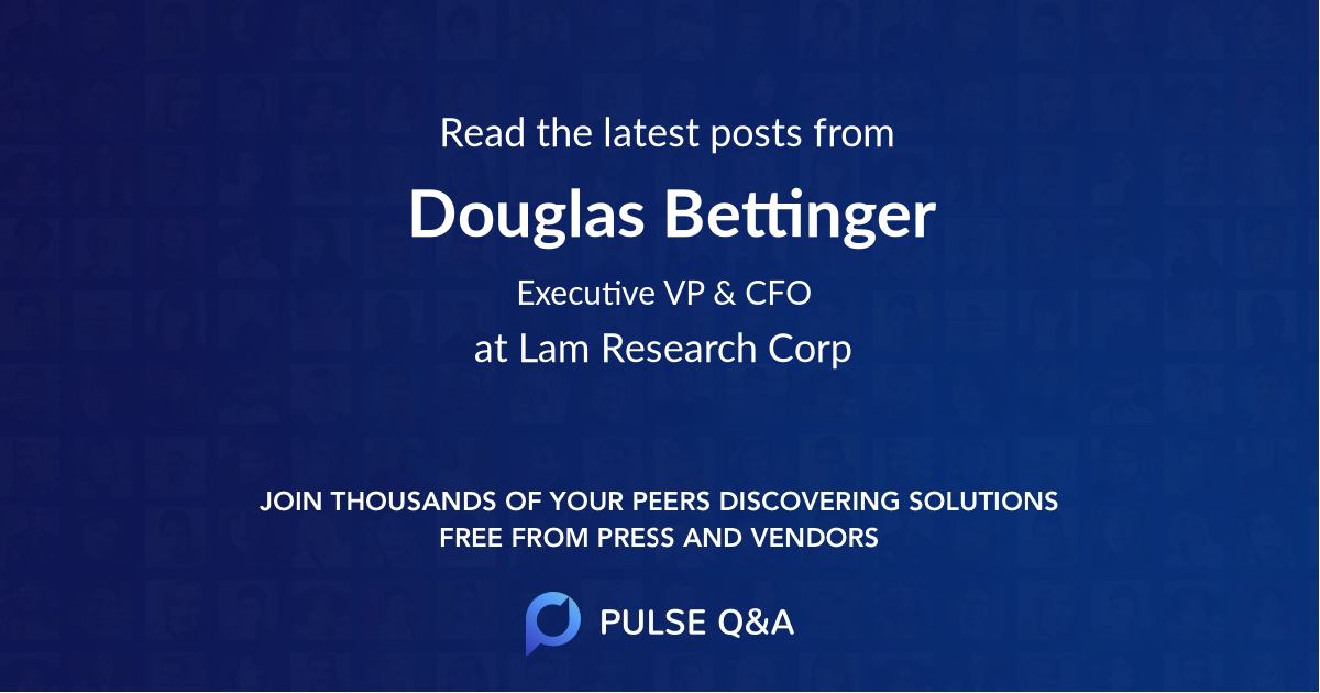 Douglas Bettinger