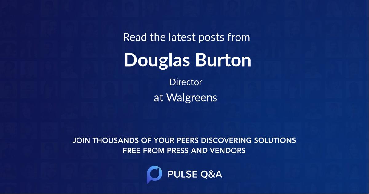 Douglas Burton