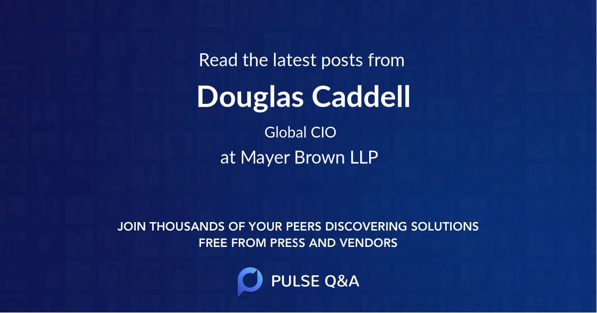 Douglas Caddell