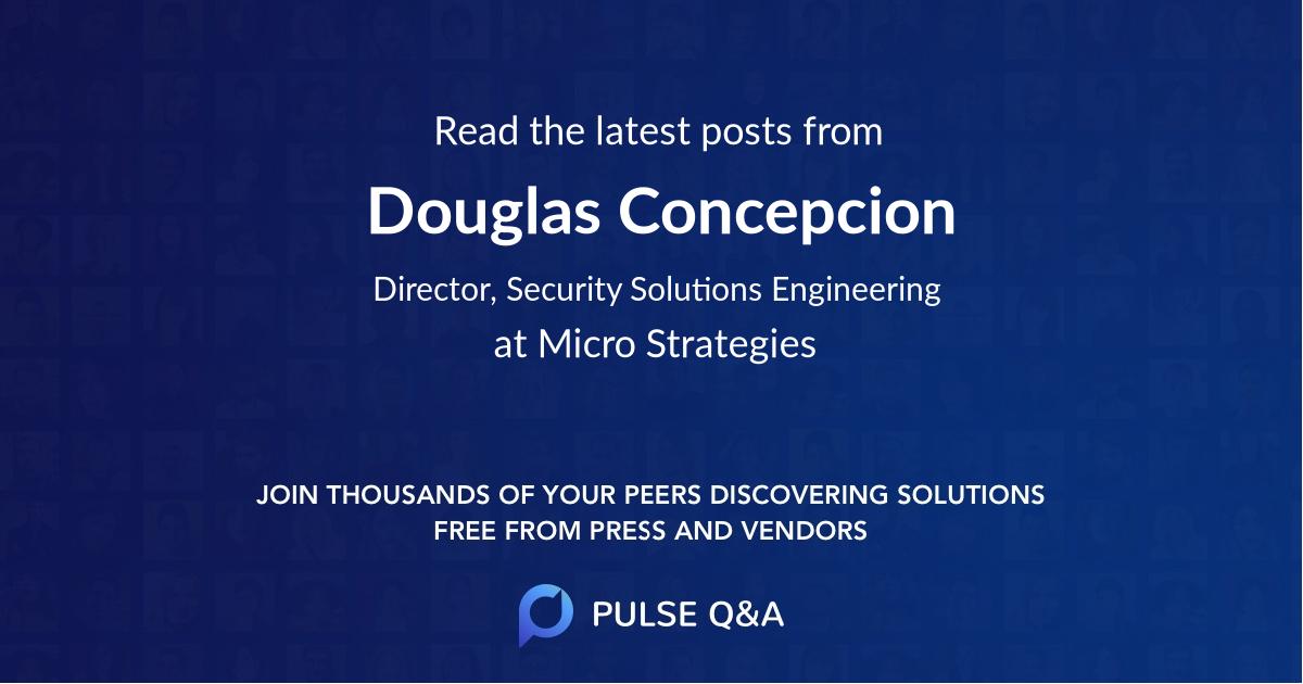 Douglas Concepcion