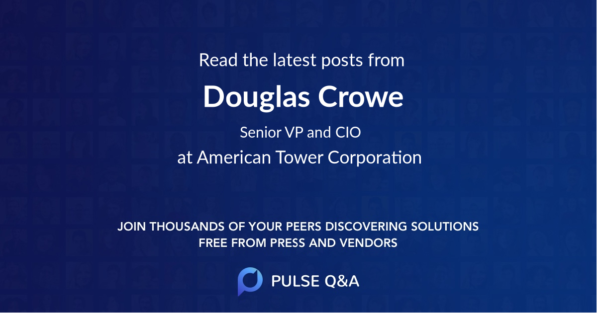 Douglas Crowe