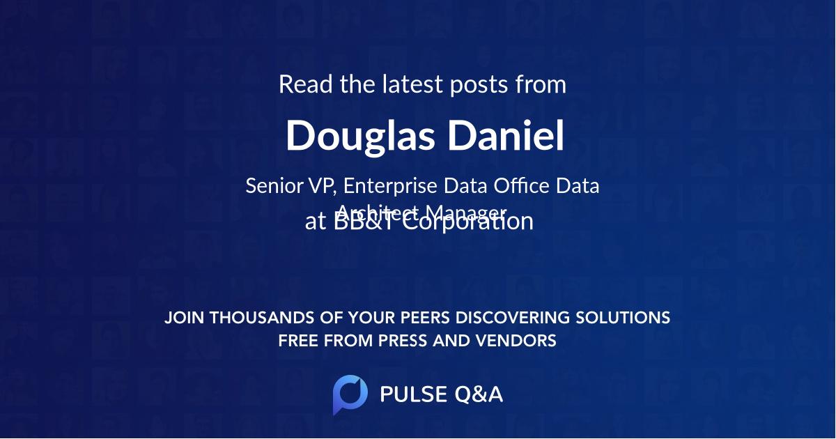 Douglas Daniel