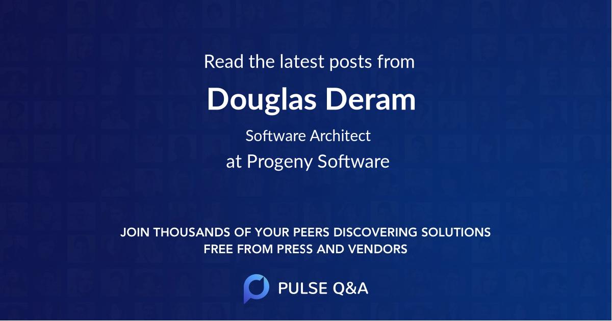 Douglas Deram