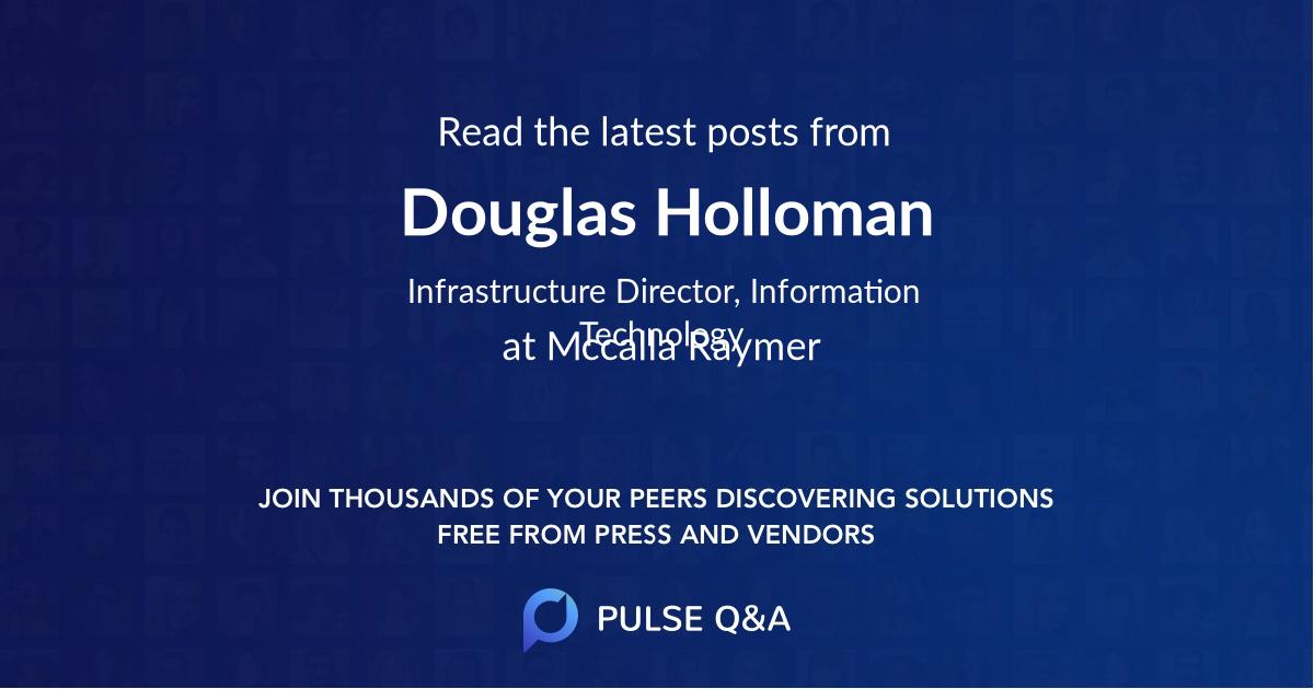 Douglas Holloman